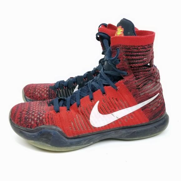 brand new ad72e 45bea Nike Kobe X 10 Elite High Top Shoe Size 9 ED007. M 5aff7ab09a94550c49dbf353